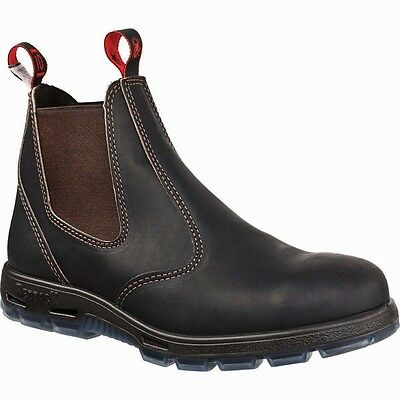 NEW! Redback UBOK BOBCAT CLARET OIL KIP NON SAFETY ELASTIC SIDE BOOTS ALL SIZES