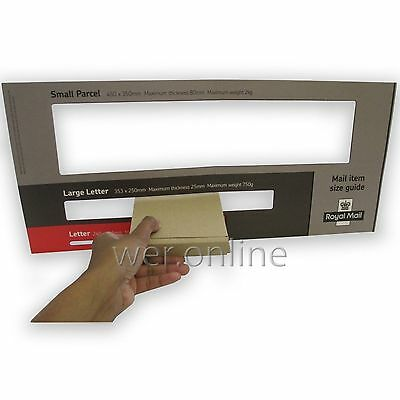 Royal Mail Mini Large Letter 101 x 101 x 20mm Cardboard Postal Parcel PiP Boxes