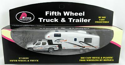 Fifth Wheel Truck & Trailer New Toy Die Cast Caravan Truck Accessories Parts RV