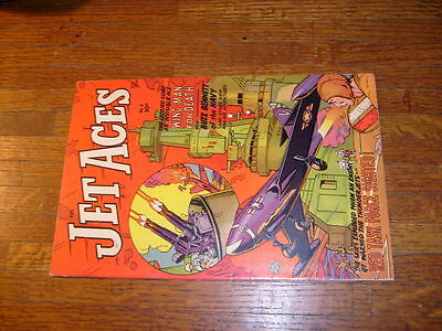 "JET ACES #3, 1952 FICTION HOUSE COMIC, ""VERYFINE"", high grade"