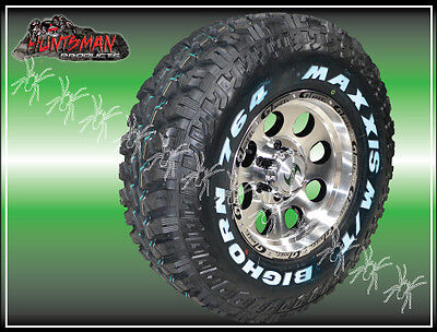 16X8 Gt Alloy Mag Wheel  6/139.7  With 225/75R16 Maxxis Bighorn Mud Tyre 764