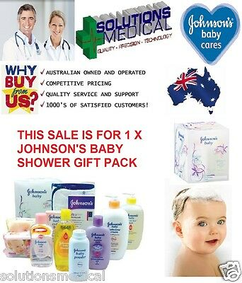 Johnson And Johnson Baby Shower Gift Pack - Sale!