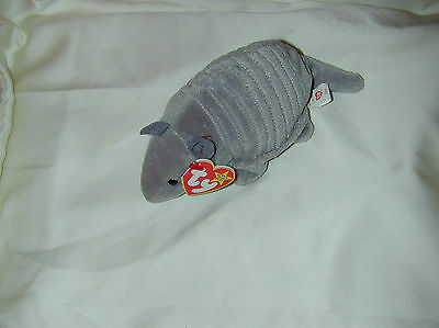 Ty Beanie Babies ''tank'' Date Of Birth 2-22-95 Withpvc Pellets-New-Retired