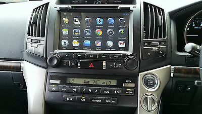 """Toyota Landcruiser  200 Series 9"""" Android Dvd / Gps System & Free Reverse Camera"""