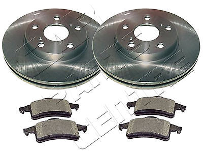Front Delphi Brake Pads Brake Discs 305mm Vented Fits Jeep Grand Cherokee