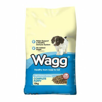 Wagg Complete Puppy with Chicken & Vegetables Food