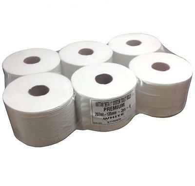 Centre Pull smart feed TOILET ROLLS one x 6 per pack 207 meters long tissue