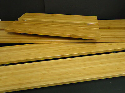 Oneida Buffet Euro WW 3000 Rectangle 3-Piece Bamboo Riser Set