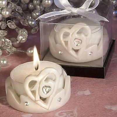 BRAND NEW Sweet Sixteen 16 Candle & Tea Light Holder Birthday Party Favours