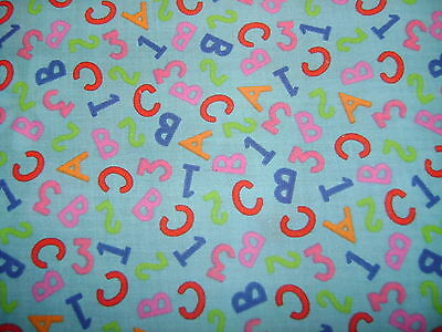 123-Turq Polycotton Fabric 112cm wide.Pay only one COMBINED postal charge.