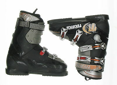 Used Tecnica Entry X RT Black & Orange Ski Boots Men's Size