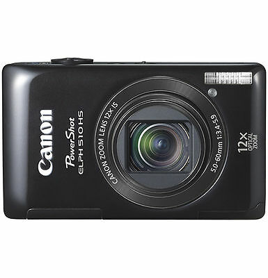Canon PowerShot ELPH 510 HS / IXUS 1100 HS 12.1 MP Digital Camera - Silver