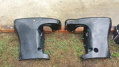 mercury mariner four stroke 90hp 115hp lower cowlings