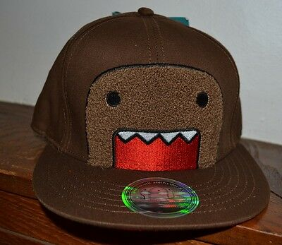 1f57325832bcf Fuzzy Domo Authentic Adjustable Flat Bill Hat By Concept One Accessories  OSFM