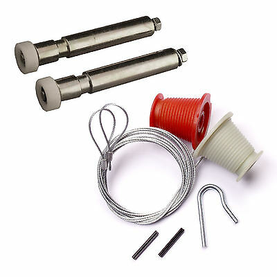 Henderson Full Repair Kit Cables Rollers Nuts Bolts Garage