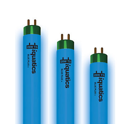 3 x iQuatics 28w JUWEL Compatible T5 Blue Plus-T5 *Marine* Colour enhancing