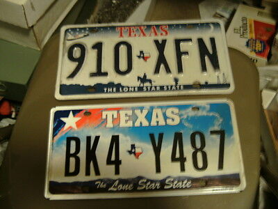 HUGE USED/EXPIRED Texas License PLATE LOT  (100) Total -- ALL TEXAS PLATES