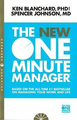 The New One Minute Manager by Ken Blanchard and Spencer Johnson NEW