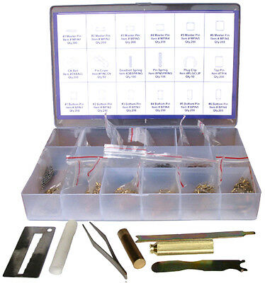 Kwikset Rekey 200 Master Bottom Pins Tools Box Kit Locksmith Free Shipping