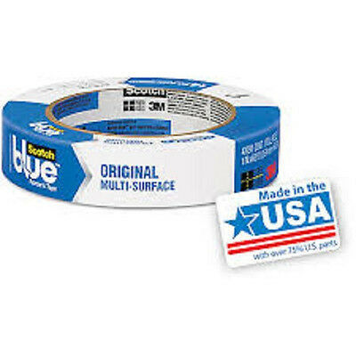 3M Blue Painters Tape, 14 Day Tape, Ideal For Long Term Masking Projects