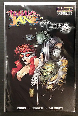 Painkiller Jane Vs The Darkness #1 Silvestri Cover NM- 1st Print Event Comics