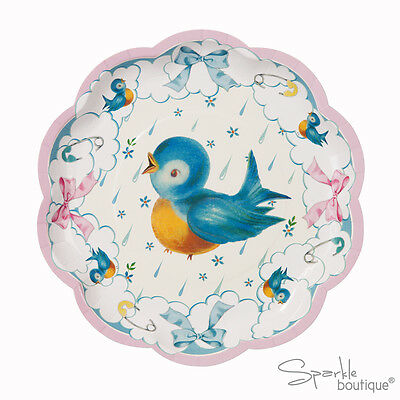 Luxury Baby Shower PAPER PLATES -Unisex Party- FULL BABY ON BOARD RANGE IN SHOP!