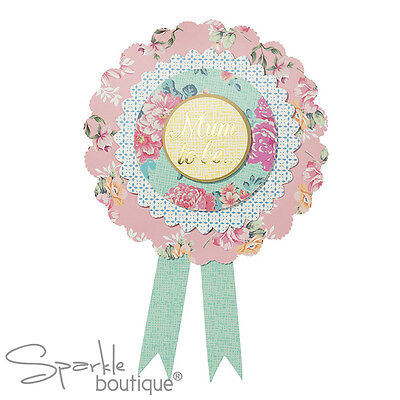 MUM-TO-BE ROSETTE - Badge/Baby Shower Accessories -FULL TRULY BABY RANGE IN SHOP