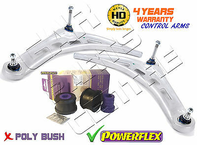 For Bmw 3 Series E46 Front Meyle Lower Track Control Arm Arms Powerflex Bushes