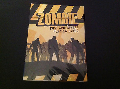 Survive THE WALKING DEAD- ZOMBIE Post Apocalypse Playing Cards Deck