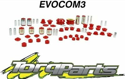 Nolathane Front/rear Suspension Bush Kit Suit Vr Vs Commodore Holden  Evocom3
