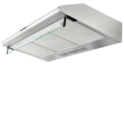 NEW 5 Star Chef Range Hood 90cm 900mm Stainless Steel Kitchen Canopy Rangehood