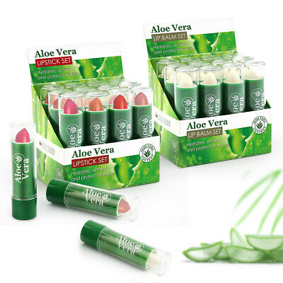 72 ITEMS (36 LIPSTICKS + 36 LIP BALMS) with VITAMIN E FULL SIZE WHOLESALE UK