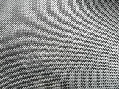 Black Heavy Duty FINE Ribbed Rubber Mat Matting ANTI-Slip 1.5m x 1.2m x 6mm thk