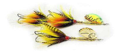 """Musky Mania Bucktail """"DoubleTrouble""""  25 cm / 56 g. Spinner / Farbauswahl"""