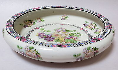 Beautiful Antique Hand Painted Bowl Made In England