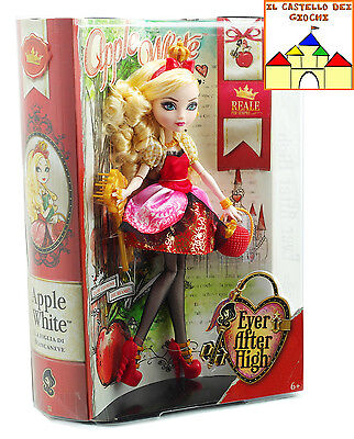 Ever After High Bambola APPLE WHITE 30cm by Mattel BFX23