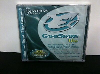 New Factory Sealed Game Shark Lite Playstation 1 Psone With 4000 Cheats Codes