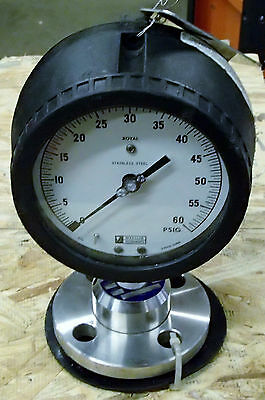Weksler Instrument Pressure Gauge and Diaphraghm  WA12755 New Surplus
