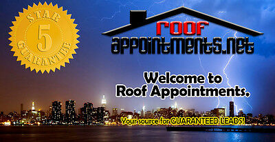 100 Roof Appointment Leads for Roofing Contractors