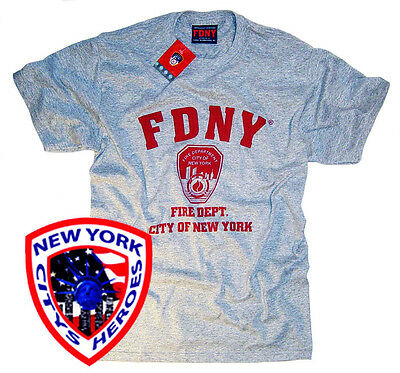 FDNY Shirt T-Shirt Officially Licensed