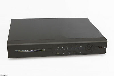 16 Channel DVR Mobile Viewing PTZ Network