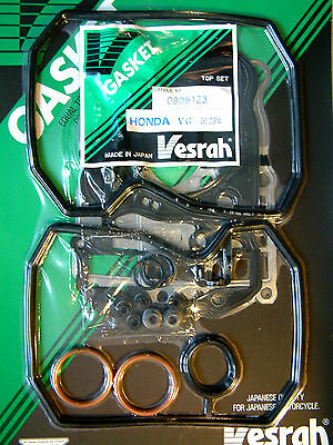 VESRAH Top end Gasket set kit Honda NT650 NTV600 NTV650 Bros Revere 1988-90