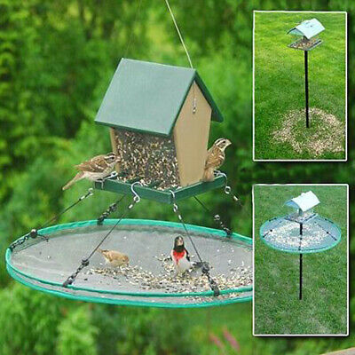 Bird Feeder Seed Catcher Seed Hoop Platform for Hanging or Pole Mount Feeders
