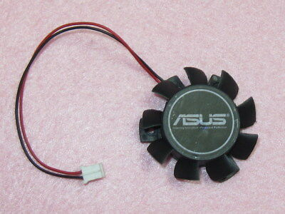 37mm ASUS ATI NVIDIA VGA Fan Replacement 26mm 2Pin T124010DL DC 12V 0.1A R132
