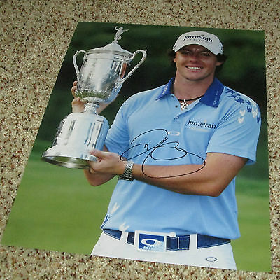 Rory Mcilroy Signed 11x14 Photo