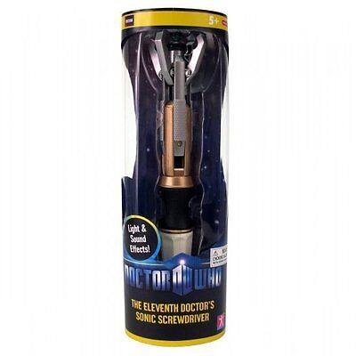 DOCTOR WHO The Eleven Sonic Screwdriver 11th tournevis Sonore Lumineux 03407