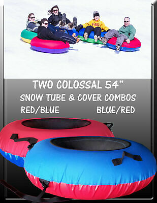 2-Pack Huge River Tube and Cover Combos