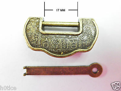 Old Style Chinese lucky lock for Jewelry box