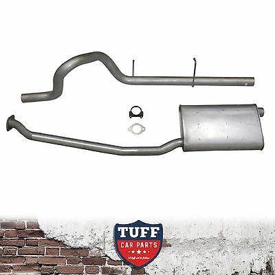 "XH Ford Falcon 6 Cyl Ute Cat Back Sports Exhaust System 2.5"" 2.25"" Catback New"