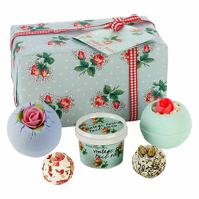 Petal Perfect Vintage Rose Bath Gift Set